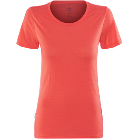 Icebreaker Tech Lite Shortsleeve Shirt Women red